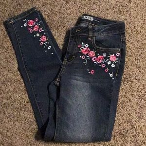 Girl's Route 66 Skinny Jeans, Size 14, New w/o Tag